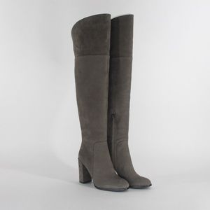 Kenneth Cole NY Jack Cement Knee Block Boots 5